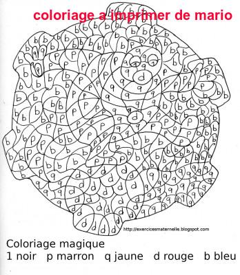 Coloriage A Imprimer De Mario