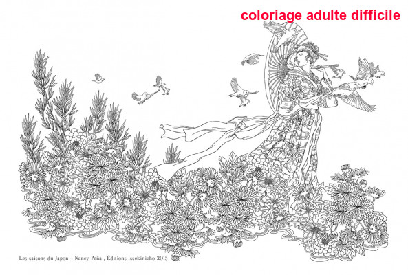 Coloriage Adulte Difficile