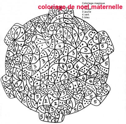 Coloriage De Noel Maternelle