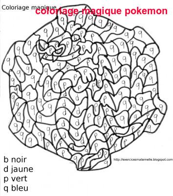 Coloriage Magique Pokemon