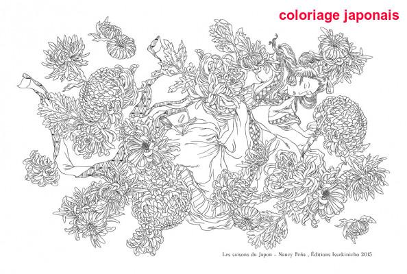 Coloriage Japonais