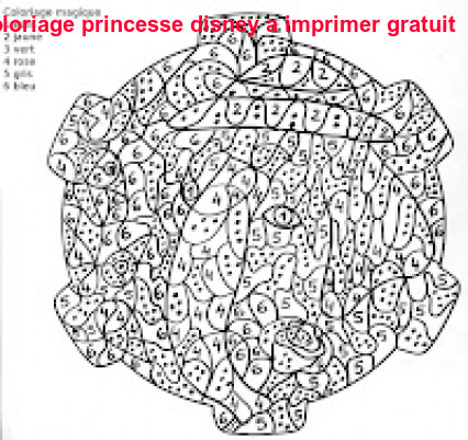 Coloriage Princesse Disney A Imprimer Gratuit