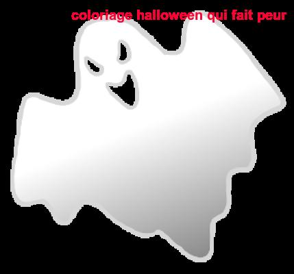 Coloriage Halloween Qui Fait Peur