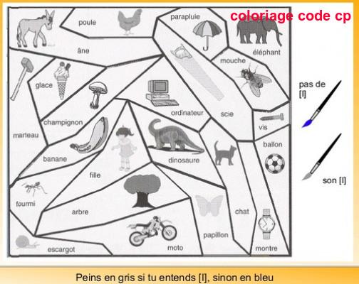 Sons Coloriage Magique Cp Lecture.Coloriage Code Cp