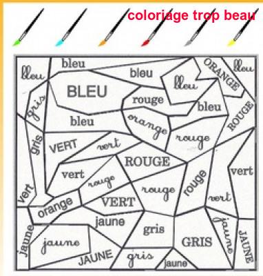 Coloriage Trop Beau