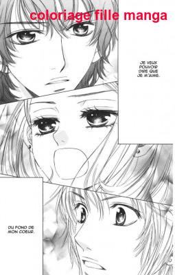 Coloriage Manga Fille Et Garcon.Coloriage Fille Manga