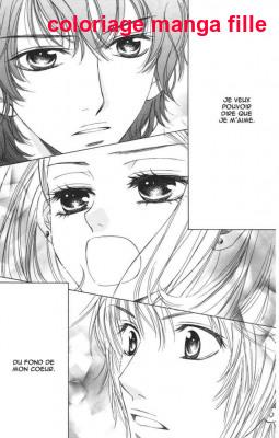 Coloriage Manga Fille Et Garcon.Coloriage Manga Fille