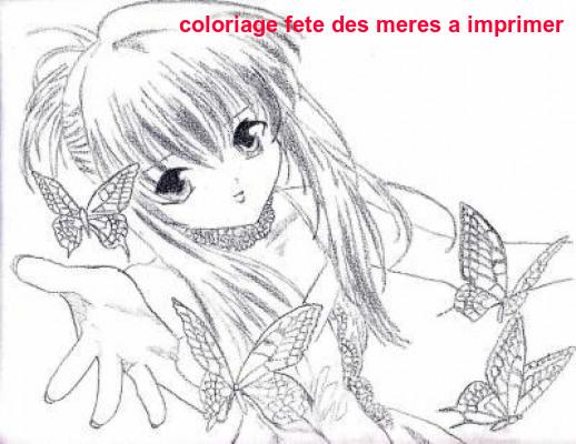 Coloriage Fete Des Meres A Imprimer