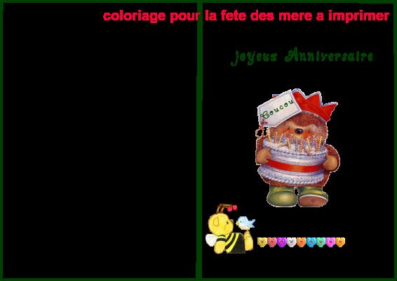 Coloriage Pour La Fete Des Mere A Imprimer