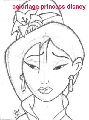 Coloriage Princess Disney
