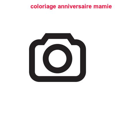 Coloriage Anniversaire Mamie