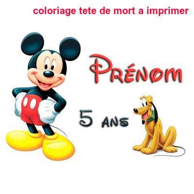 Tete De Mickey A Imprimer