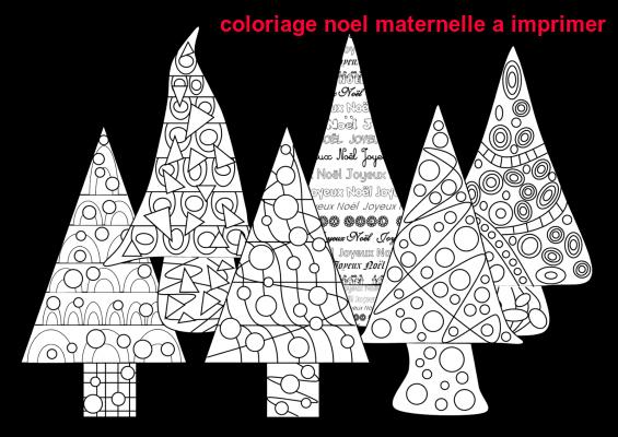 Coloriage Noel Maternelle A Imprimer