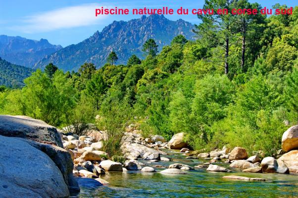 Piscine Naturelle Du Cavu En Corse Du Sud