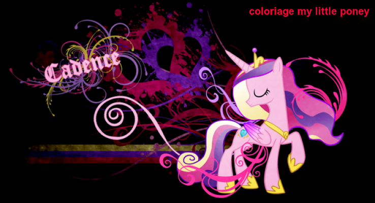 Coloriage My Little Poney