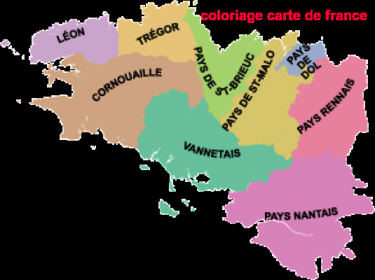 Coloriage En Ligne Carte Europe.Coloriage Carte De France