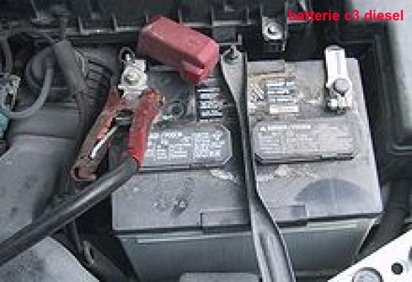batterie c3 diesel