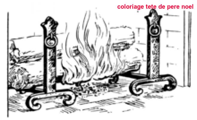 Coloriage Tete De Pere Noel