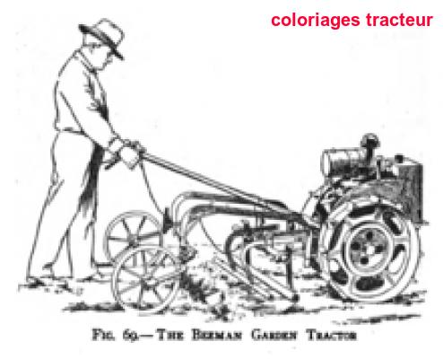 Coloriages Tracteur