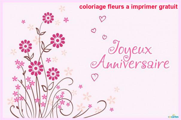 Coloriage Fleurs A Imprimer Gratuit