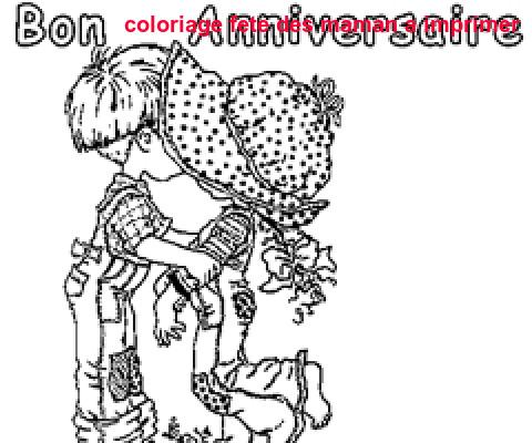 Coloriage Fete Des Maman A Imprimer