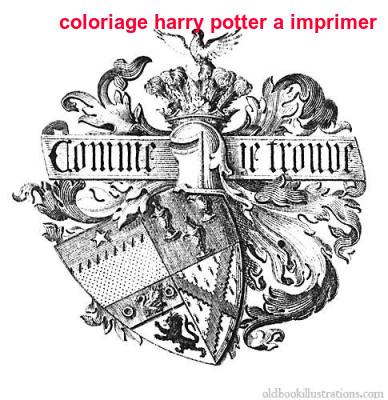 Coloriage Harry Potter A Imprimer