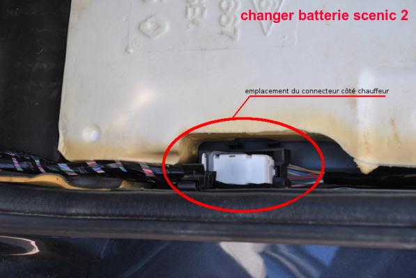 changer batterie scenic 2