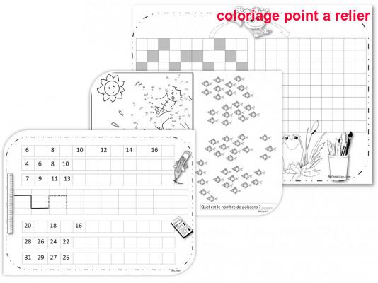 Coloriage Point A Relier