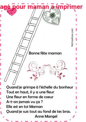 Coloriage Pour Maman A Imprimer